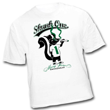 skunk one ganja cannabis legalize 420 t shirts t-shirts clothing apparel hats dope sack