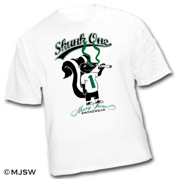 skunk one 1 cannabis ganja legalize it bob marley cypress hill mary jane smokewear dope squad sack