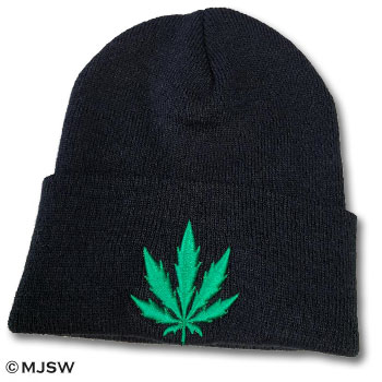 beanie hat knit weed cannabis shirts ganja mary jane smokwear dope squad sack